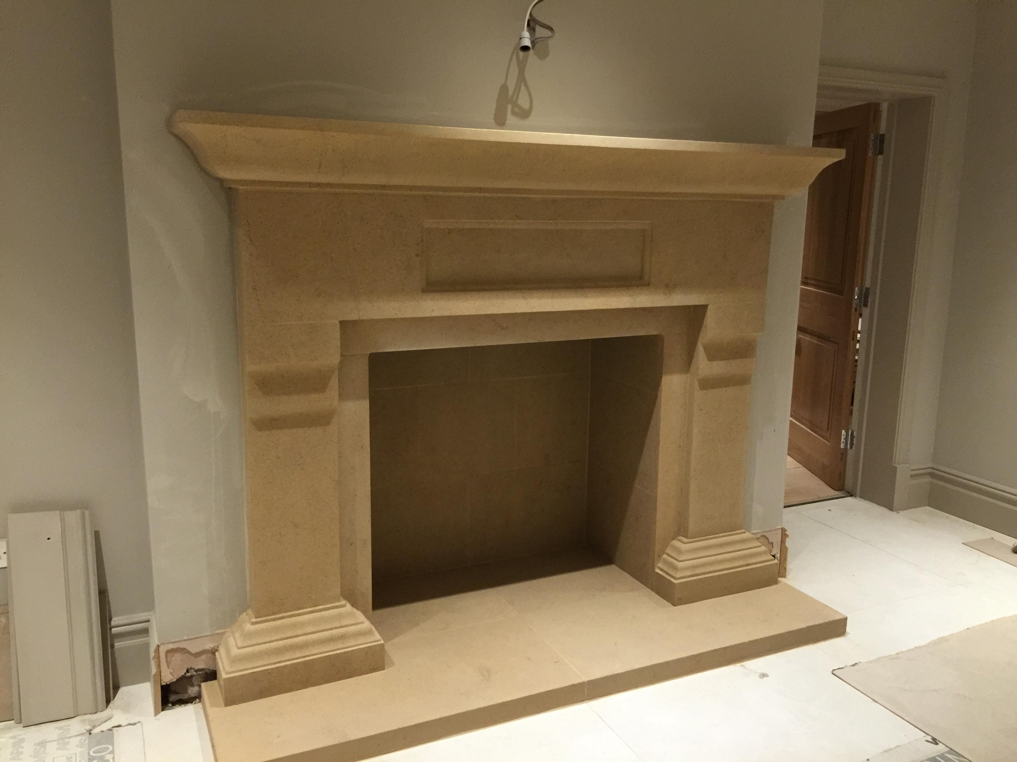 Cranmore Bath Stone Fireplace